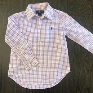 Ralph Lauren Button down shirt size 6 boys
